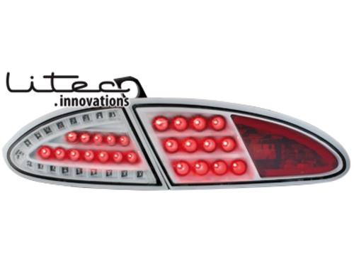 LITEC LED zadní světla Seat Leon 05-09 1P bílé