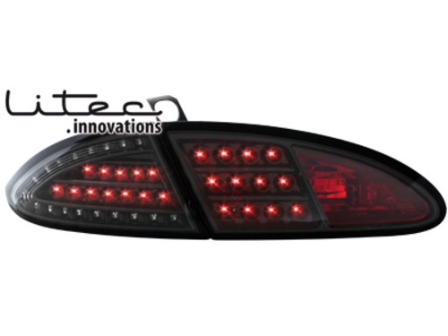 LITEC LED zadní světla Seat Leon 05-09 1P černé