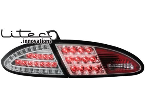 LITEC LED zadní světla Seat Leon 05-09 1P čiré