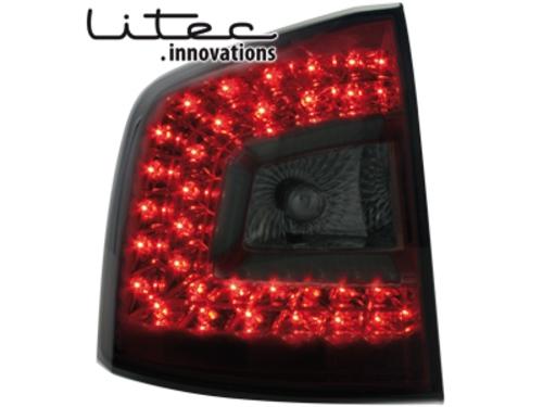 LITEC LED zadní světla Skoda Octavia 1Z Combi 2008+ červené/kouřové