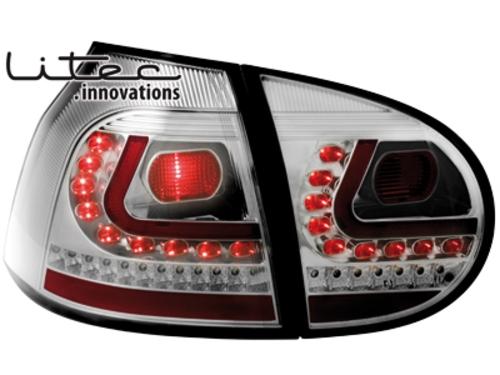 LITEC LED zadní světla VW Golf V 03-09 crystal