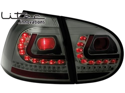 LITEC LED zadní světla VW Golf V 03-09 smoke
