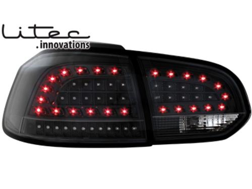 LITEC LED zadní světla VW Golf VI LED Blinker černé