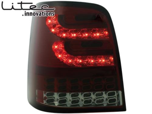 LITEC LED zadní světla VW Touran 2003+ červené/kouřové