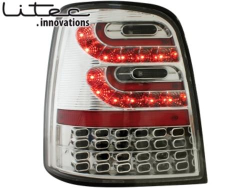 LITEC LED zadní světla VW Touran 2003+ crystal