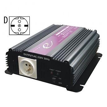 Měnič napětí 12V/230V SP1000-12V