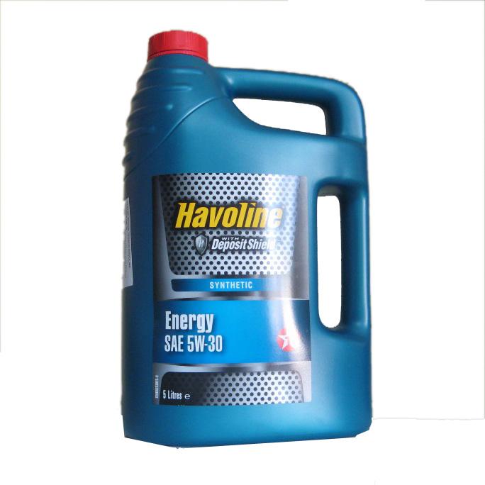 Motorový olej Havoline Energy 5W-30 - 5 litrů