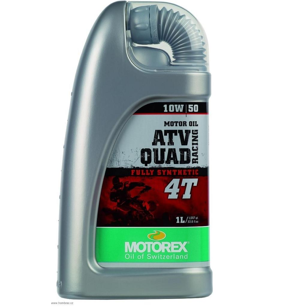 Motorový olej Motorex ATV QUAD RACING 4T 10W/50 1L