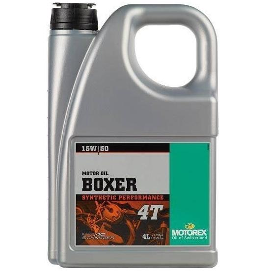 Motorový olej Motorex BOXER 4T 15W/50 4L