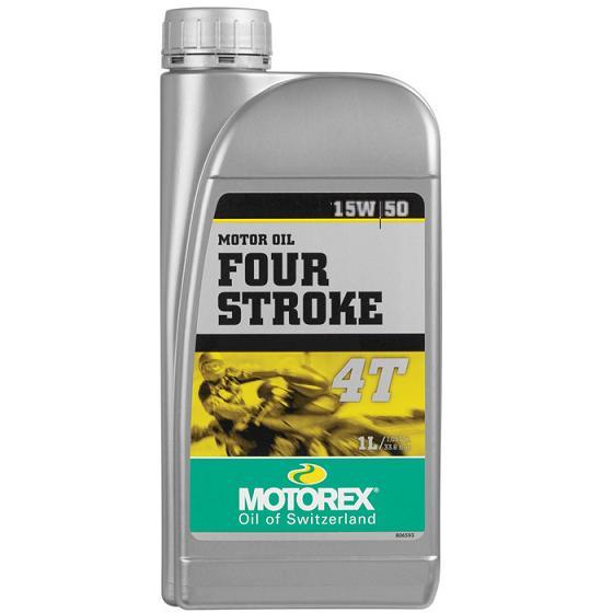 Motorový olej Motorex FOUR STROKE 4T 15W/50 1L
