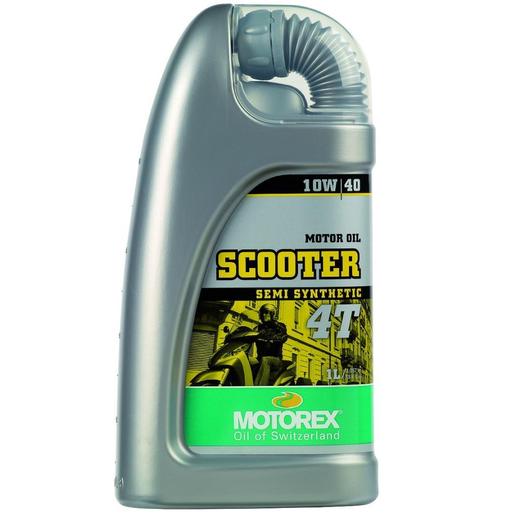 Motorový olej Motorex SCOOTER 4T 10W40 1L