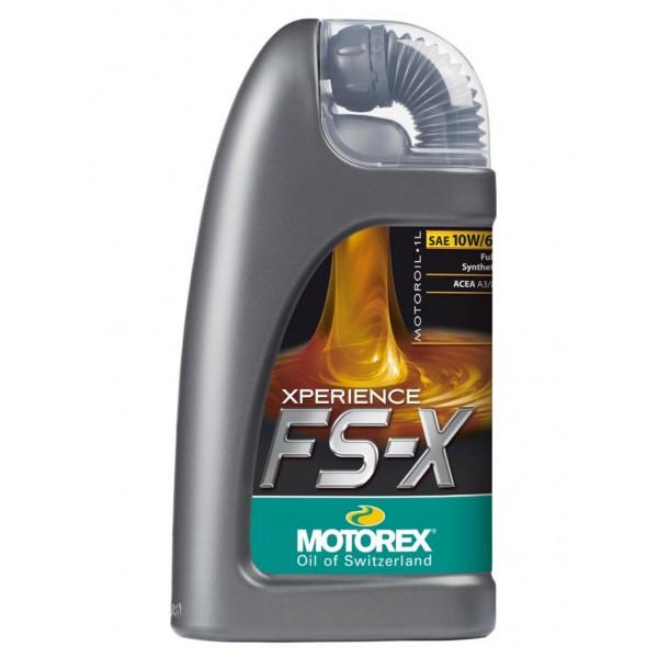 Motorový olej Motorex XPERIENCE FS-X 10W/60