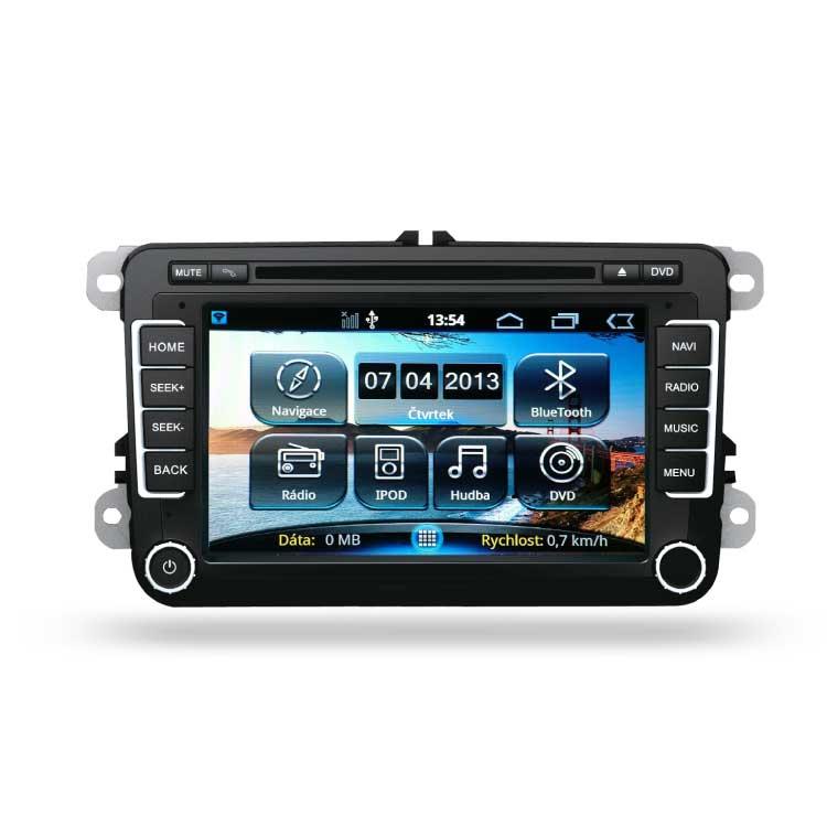 Multimediální autorádio pro VW, ŠKODA a SEAT RR-VW01