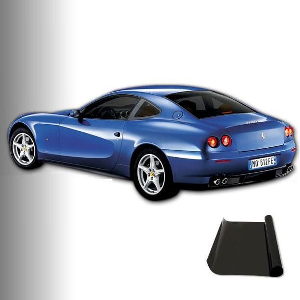 Okenní fólie - SUPER DARK BLACK 300x50cm