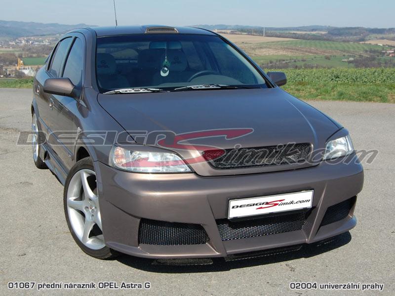 přední nárazník Opel Astra G, laminát