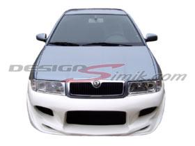 přední nárazník Škoda Octavia 2000- , laminát