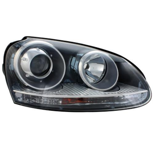 Přední světla VW Golf V 03-07 GTI Look černé