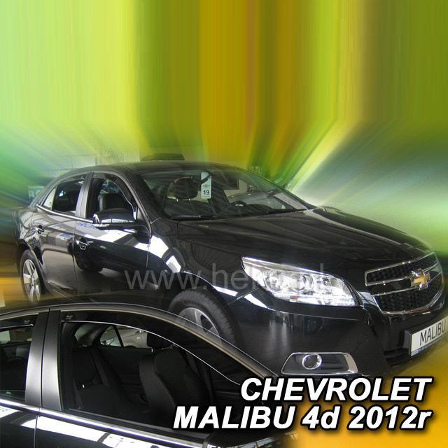 Protiprůvanové plexi ofuky (deflektory) Chevrolet Malibu IV 4D 12R