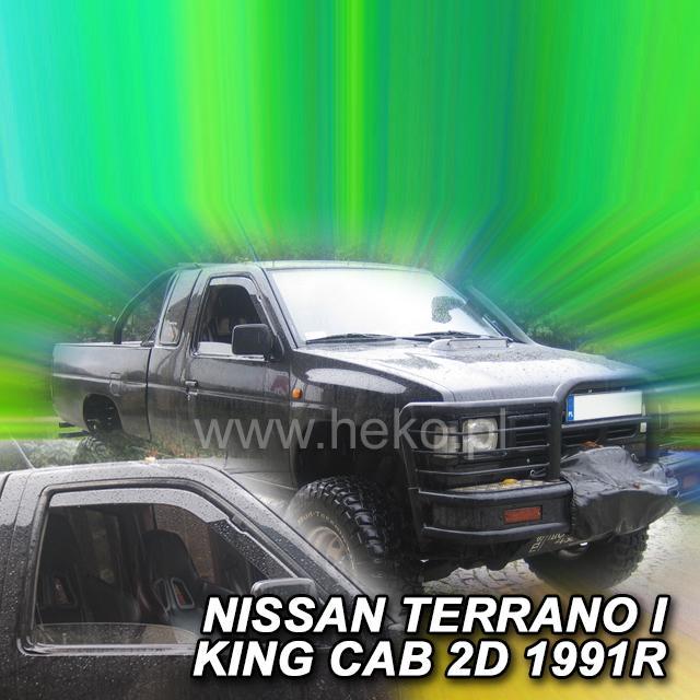 Protiprůvanové plexi ofuky (deflektory) Nissan Terrano I 2/4D 87R-->95R