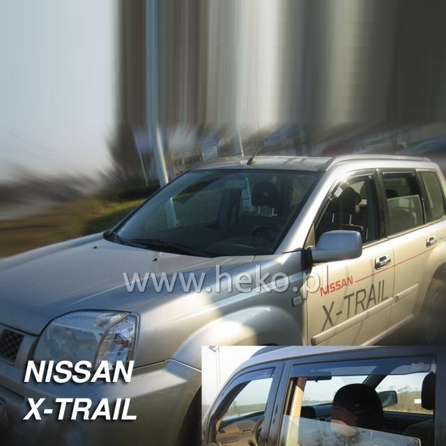 Protiprůvanové plexi ofuky (deflektory) Nissan X-Trail 5D 01R