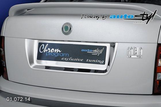 Rámeček registrační značky zadní Sedan, Combi