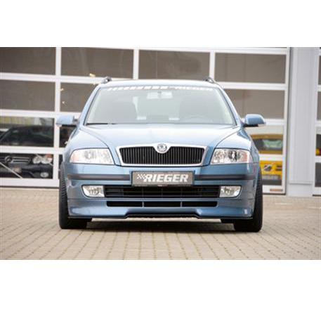 RIEGER spoiler pod přední nárazník Škoda Octavia II