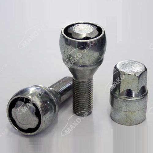 SICUBLOC pojistné šrouby M12x1,25x22 kužel, klíč 17