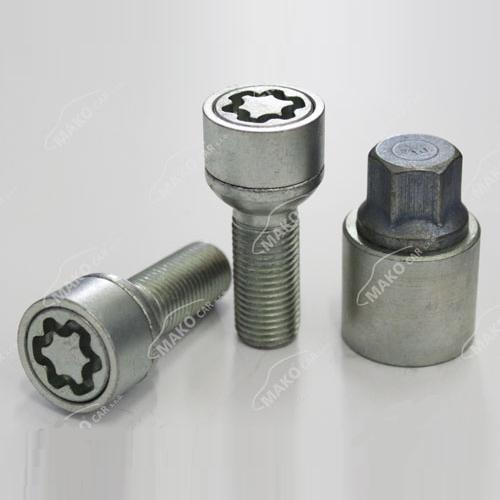 SICUSTAR pojistné šrouby M14x1,5x29 kulová R13, klíč 17