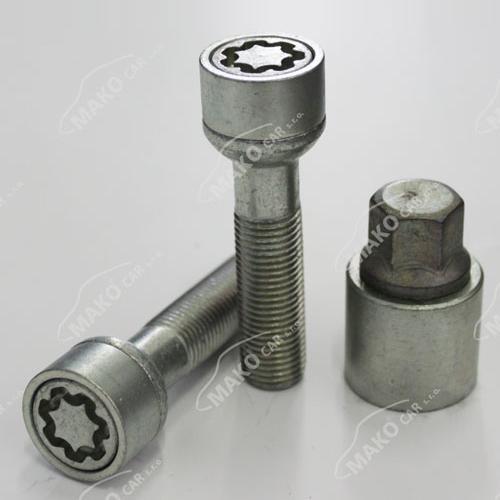 SICUSTAR pojistné šrouby M14x1,5x47 kulová R13, klíč 17