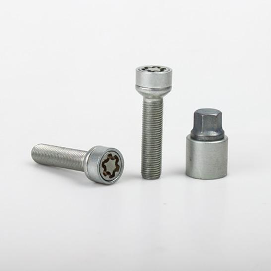 SICUSTAR pojistné šrouby M14x1,5x55 kulová R14, klíč 17