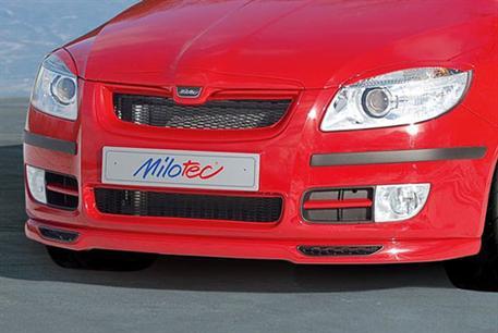 Spoiler Milotec - přední, Škoda Roomster / Škoda Fabia II