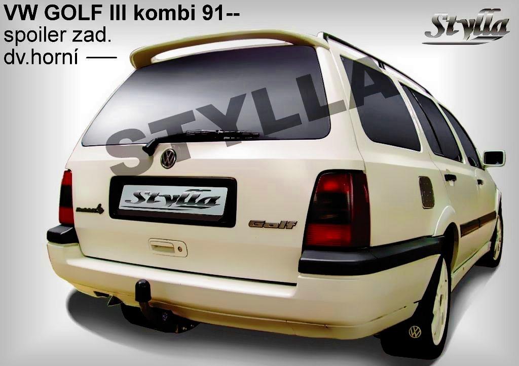 Střešní spoiler VOLKSWAGEN Golf III combi r.v. 93-99