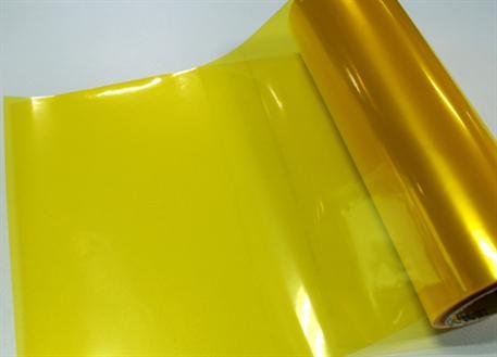 Transparentní fólie žlutá