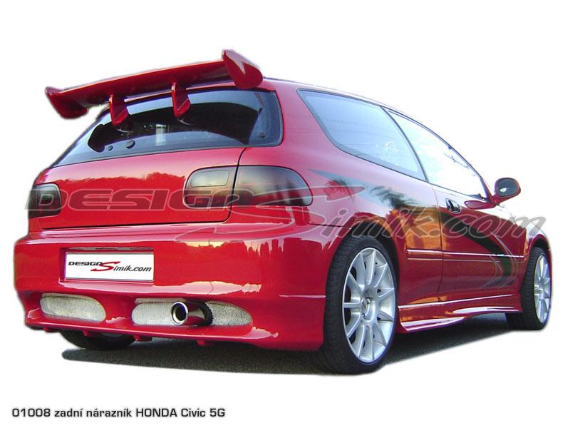 Zadní nárazník Honda Civic 5G 1992-1995, laminát