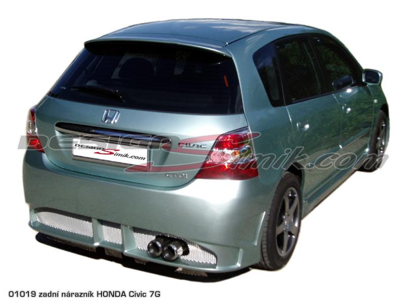 Zadní nárazník Honda Civic 7G 2001-2005, laminát