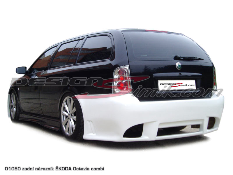Zadní nárazník Škoda Octavia combi, laminát