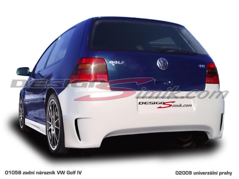 Zadní nárazník VW Golf IV, laminát