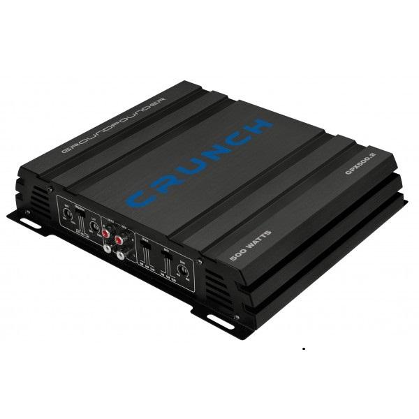 Dvoukanálový zesilovač Crunch GPX500.2, výkon 2 x 125W