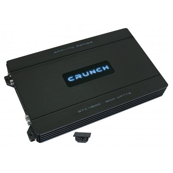 Čtyřkanálový zesilovač Crunch GTX4800, výkon 4 x 220W