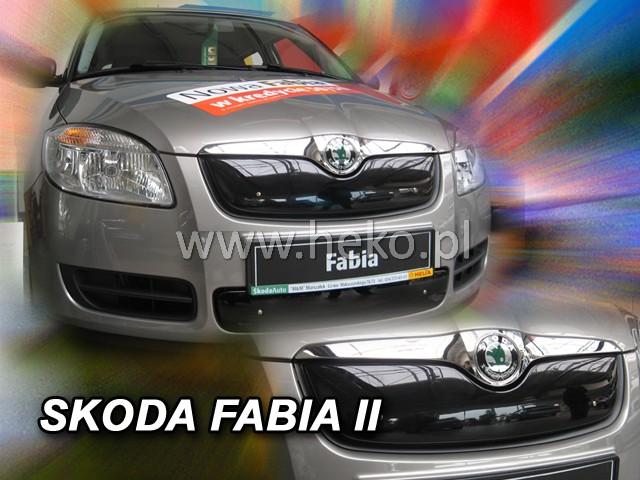 Zimní clona chladiče Škoda Fabia II horní