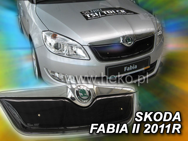 Zimní clona chladiče Škoda Fabia II 5d 07/10R