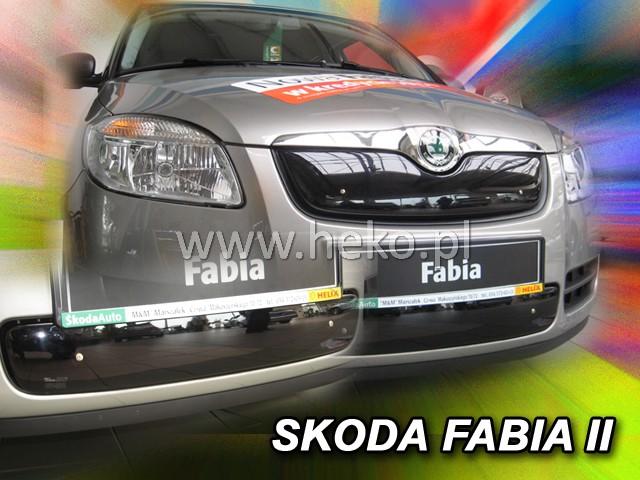 Zimní clona chladiče Škoda Fabia II dolní