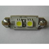 CAN-BUS sufitka bílá - Super Light, 2 SMD LED, 36mm, 1ks