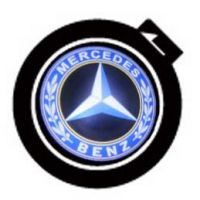LED logo projektor MERCEDES
